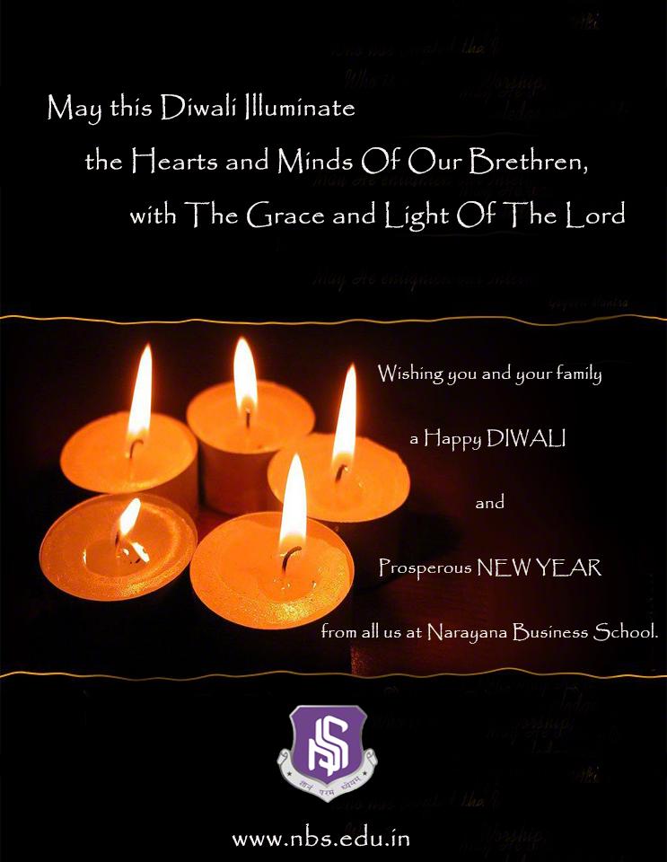 Diwali Greetings - Narayana Business School