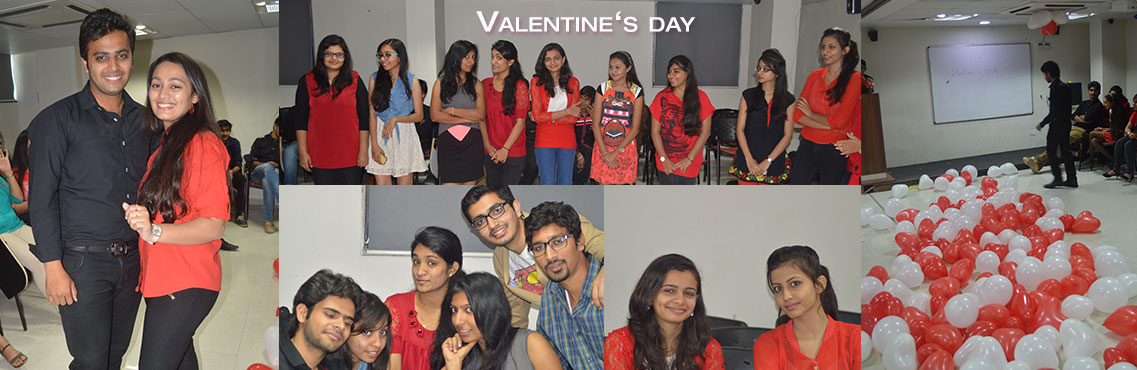 Valentine day @ NBS Campus Ahmedabad