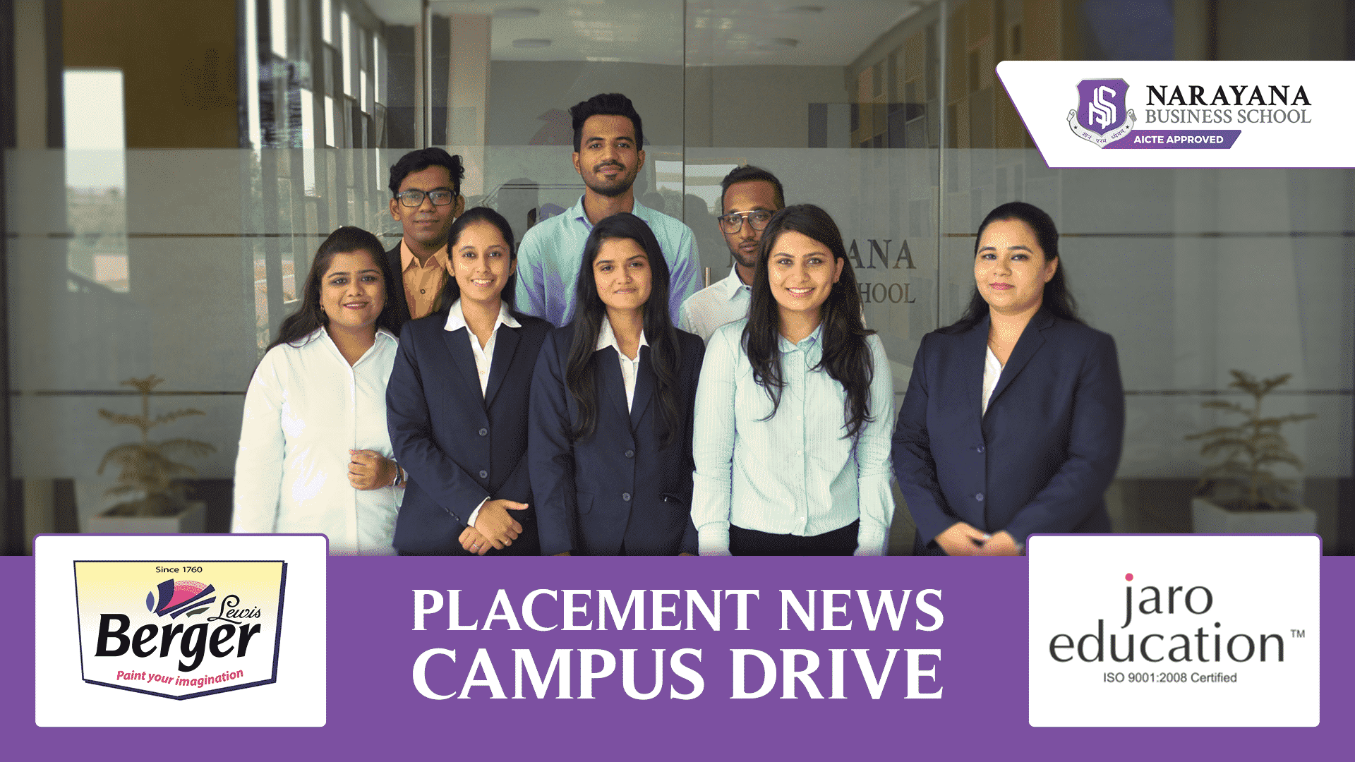 Placement Drive at NBS Ahmedabad